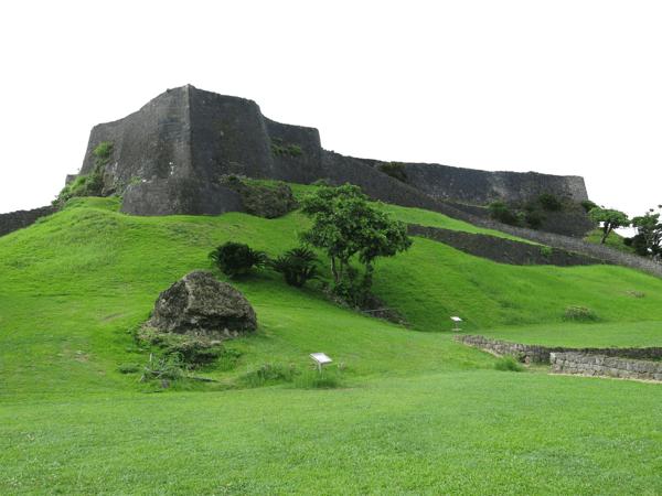 Katsuren Gusuku-ruiner